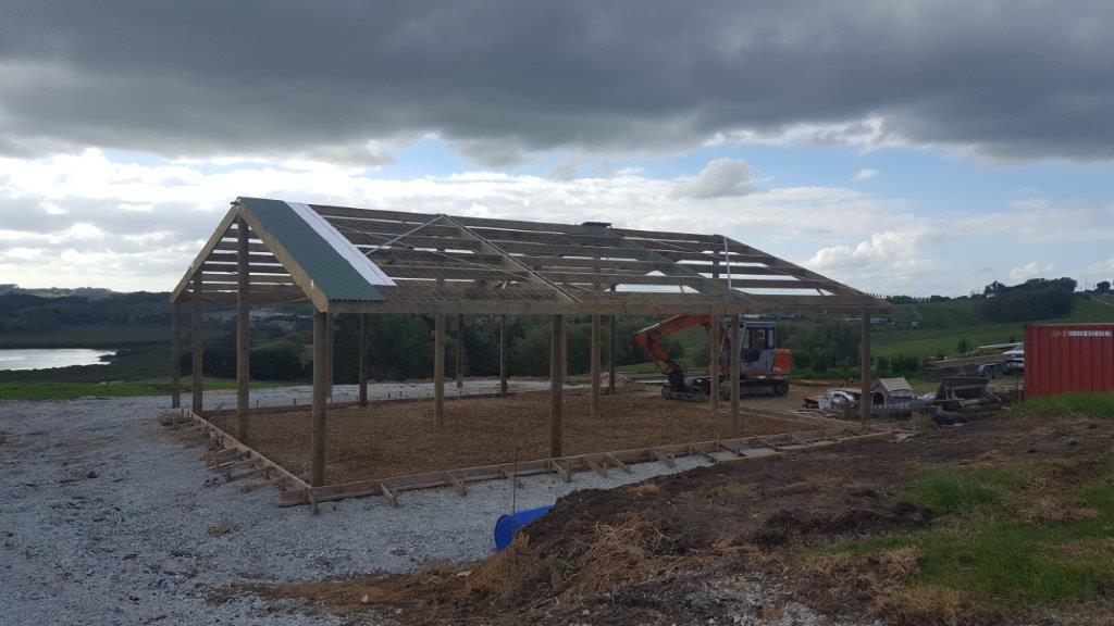 Building a farm house
